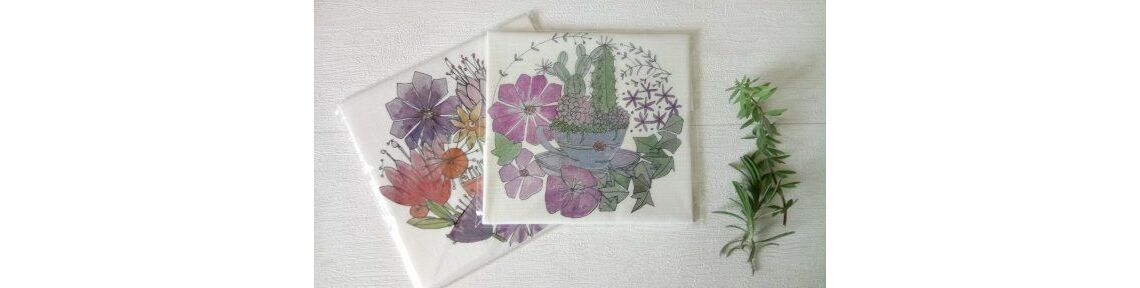Embroidery Patterns on Linen