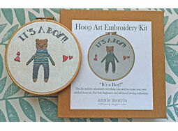 \'It\'s a Boy!\' New Baby Hoop Art Hand Embroidery Kit