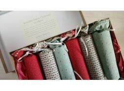 Christmas Cracker Box set of 6 - Christmas Fabrics