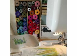 Freehand Machine Embroidery Workshop: Saturday 10th March