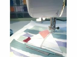 Creative Fabric Collage Pictures 8th June 10am- 4pm Harbour House Centre for Arts and Yoga, Kingsbridge