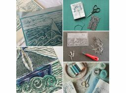 Lino Printing onto Fabric! Harbour House Centre for Arts and Yoga, Kingsbridge 5th October 10am- 4pm