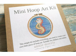 *NEW* Mini Hoop Art KIt: Seahorse