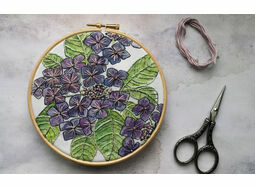 *NEW* Hydrangea Hoop Art Kit
