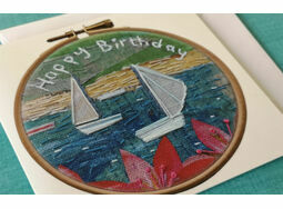 *NEW* Happy Birthday - Sailing yachts card