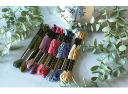 *NEW* Calm Thread Pack of Embroidery threads