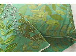*NEW* LEAFY CUSHION IN GREEN