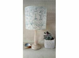 Salcombe Embroidered Lampshade