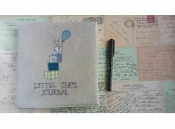 'Little One's Journal' Boy's Embroidered Memory Book