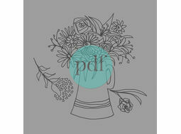 \'Jug Of Flowers\' PDF Embroidery Pattern