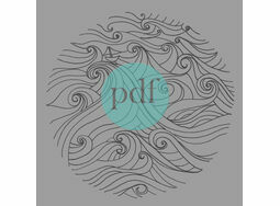 \'Boat In Stormy Seas\' PDF Embroidery Pattern
