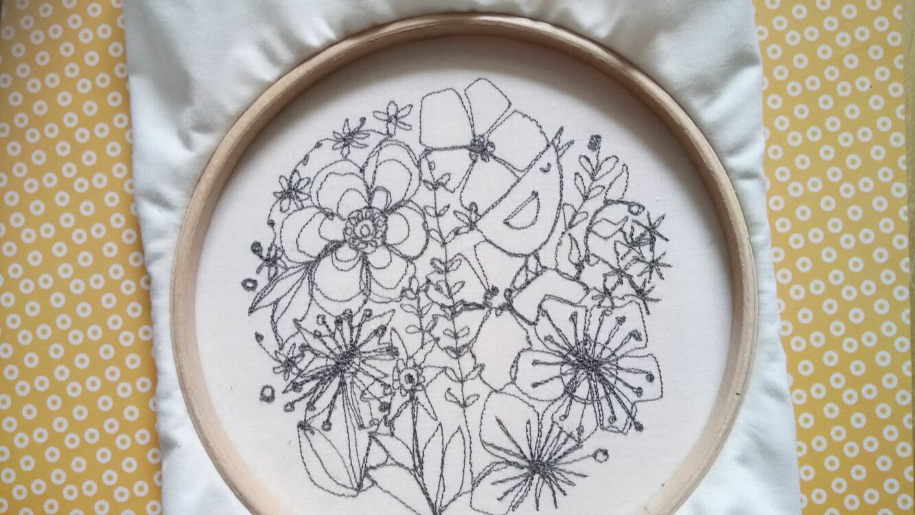 Freehand Machine Embroidery Workshop Saturday 16th June Only 50 00