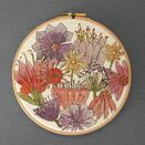 'Blooms' Floral Hoop Art Hand Embroidery Kit additional 4