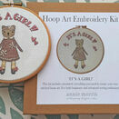 \'It\'s a Girl!\' New Baby Hoop Art Hand Embroidery Kit additional 1