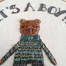 'It's a Boy!' New Baby Hoop Art Hand Embroidery Kit additional 6