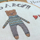 \'It\'s a Boy!\' New Baby Hoop Art Hand Embroidery Kit additional 2