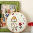 \'It\'s a Girl!\' New Baby Embroidered Hoop Art additional 1