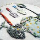 'Garden Tools' Embroidery Hoop Art additional 2