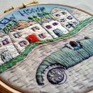 'New Home' Embroidered Hoop Art additional 2