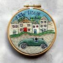 'New Home' Embroidered Hoop Art additional 1