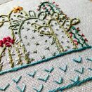 'Cactus' Embroidery Hoop Art additional 3