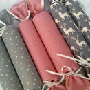 Christmas Cracker Box set of 6 - Pink and Grey set additional 1