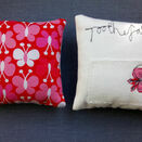 Embroidered 'Butterfly' Toothfairy Pillow additional 3