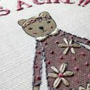 'It's a Girl!' New Baby Linen Panel Embroidery Pattern additional 3