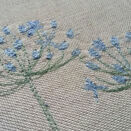 Agapanthus Floral Embroidered Guest Book additional 3