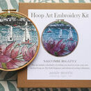 \'Salcombe Regatta\' Hoop Art Hand Embroidery Kit additional 1