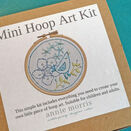 *NEW* Mini Hoop Art Kit : Little Birdy additional 3