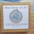 *NEW* Mini Hoop Art Kit : Little Birdy additional 4