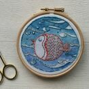 *NEW*  Mini Hoop Art Kit - Puffa fish additional 5