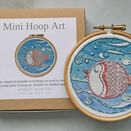 *NEW*  Mini Hoop Art Kit - Puffa fish additional 1