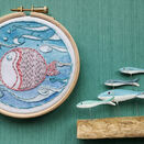 *NEW*  Mini Hoop Art Kit - Puffa fish additional 3