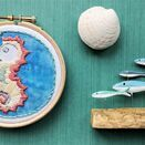 *NEW* Mini Hoop Art KIt: Seahorse additional 3