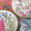 *NEW* Foxglove Linen Embroidery Pattern additional 4