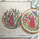*NEW* Foxglove Linen Embroidery Pattern additional 1
