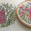 *NEW* Foxglove Linen Embroidery Pattern additional 5