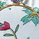 *NEW*  Contemporary Floral Linen Embroidery Pattern - for cushion front - additional 7