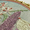 *NEW* Lavender Hand Embroidery Kit additional 4