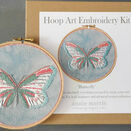 *NEW* Butterfly Hand Embroidery Kit additional 1