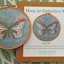 *NEW* Butterfly Hand Embroidery Kit additional 8