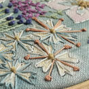 *NEW* Cosmos Hand Embroidery Pattern, Linen Panel additional 6