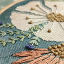 *NEW* Cosmos Hand Embroidery Pattern, Linen Panel additional 5