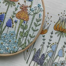 *NEW* Forget me Not Linen Panel, Embroidery Pattern additional 2
