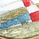 *NEW* Lighthouse Linen Embroidery Pattern panel additional 5