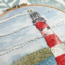 *NEW* Lighthouse Linen Embroidery Pattern panel additional 9