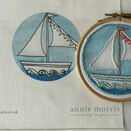*NEW* Little Boat Mini Hoop Art Hand Embroidery Kit additional 4