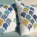 'Scallop Shell' Applique Cushion additional 1